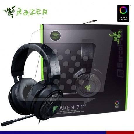 Audifono C/microf. Razer Kraken 7.1 V2 Oval Nasa Black (rz04