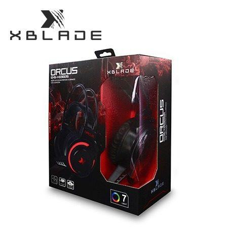 Audifono C/microf. Xblade Gaming Orcus Hg9026 Black/red