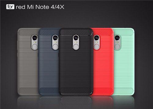 Case + Mica Vidrio Para Xiaomi Redmi Note 4x - Chiss Store