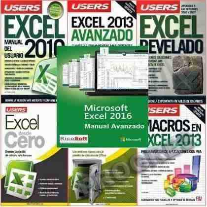Curso Completo Excel Kit Manual Microsoft 2016 + 12 Bonos