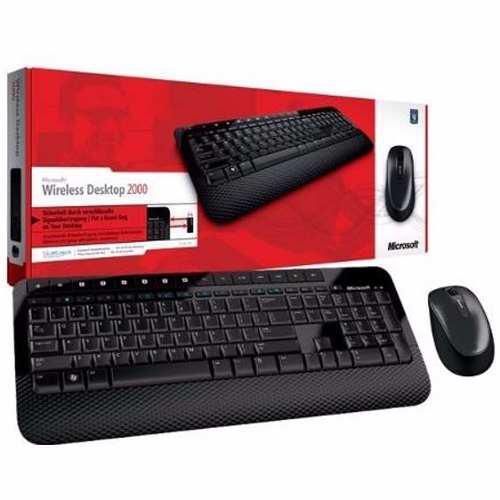 Kit Teclado Y Mouse Inalámbrico Microsoft 2000, Receptor