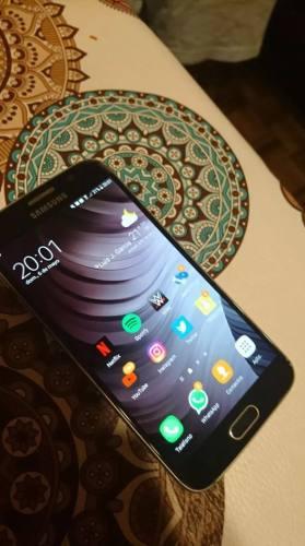 Samsung Galaxy S6 32gb Azul 4g En Buen Estado Libre