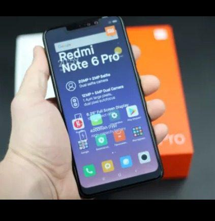 Versión Global Xiaomi Redmi Note 6 Pro 3gb 32gb Stock Azul
