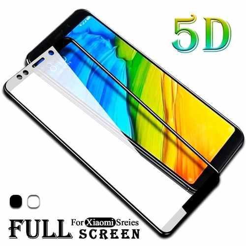 Vidrio Templado 5d Xiaomi Redmi Note 5 / 4/ Mi A2/ Case