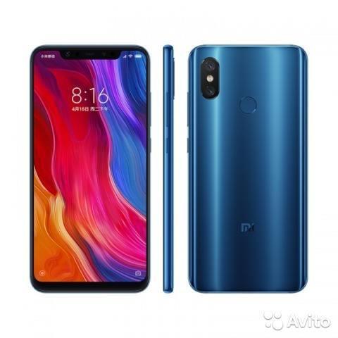 Xiaomi Mi 8 L/f.128gb 6gb Ram 3400mah 12mp Sellado + Obsequi