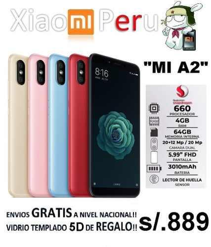 Xiaomi Mi A2 4gb/64gb + Regalo Gratis!!