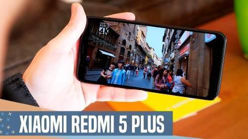 Xiaomi Redmi 5 Plus 4gb Ram 64gb Almacenamiento