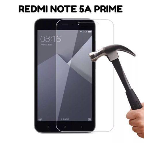 Xiaomi Redmi Note 5a Prime - Vidrio Templado Transparente