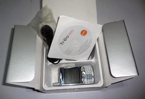 Agenda Palm Treo 650 Cdma En Caja Con Accesorios Originales