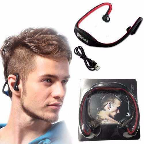 Audifonos Bluetooth Deportivo Handsfree Radio Fm Microsd