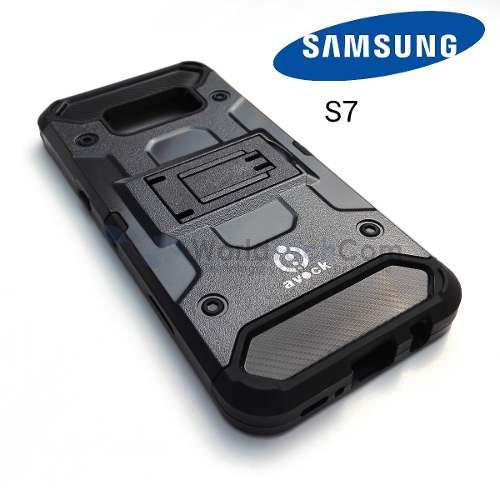 Avock // Case Armor Samsung Galaxy S7 Carcasa Gancho Parante