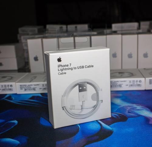 Cable Usb Iphone Original No Chino 1 Año Garantia