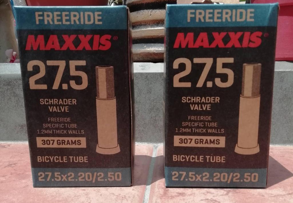 Camaras Enduro DH Maxxis Free Ride 27.5 Nuevas