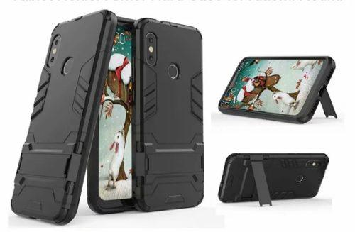 Case Armor Y Mica 5d Para Redmi Note 5, Mi A2 Y Mi A2 Lite