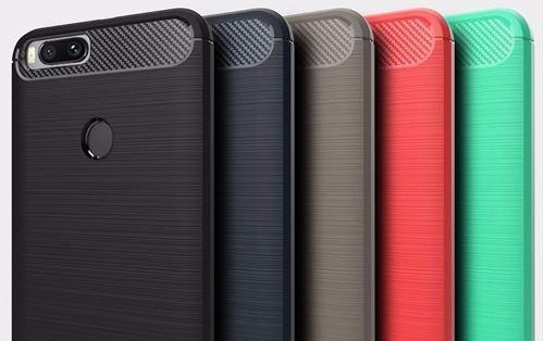 Case, Funda Protector Fibra De Carbono Xiaomi Mi A1/5x