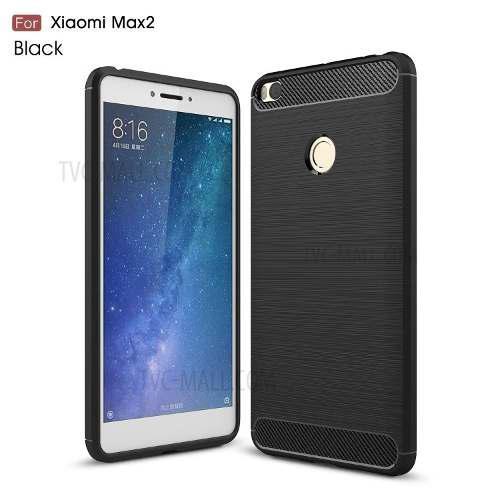 Case, Funda Protector Fibra De Carbono Xiaomi Mi Max 2