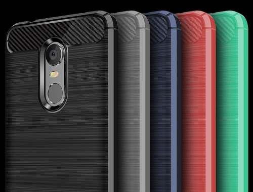 Case Funda Protector Fibra De Carbono Xiaomi Redmi 5