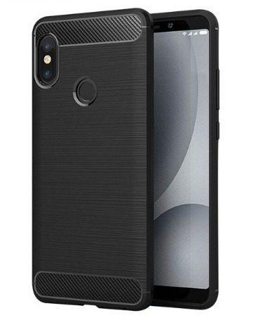 Case Protector Carbono Xiaomi Redmi Note 5, Mi A2,mi A2 Lite