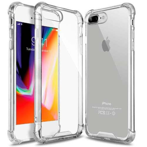 Case Protector Transparente Iphone 6 7 8 X Alta Calidad!