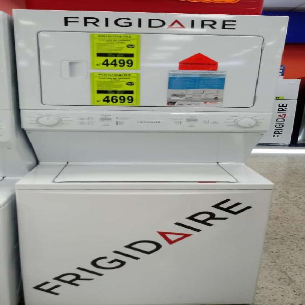 Centro de lavado electrico y gas marca frigidaire 16 kilos