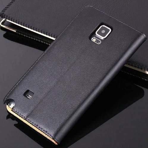 Estuche Case De Cuero Samsung Galaxy Note 2, 3
