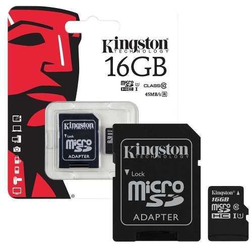 Memoria Micro Sd 16gb Kingston Por Mayor Original Tienda