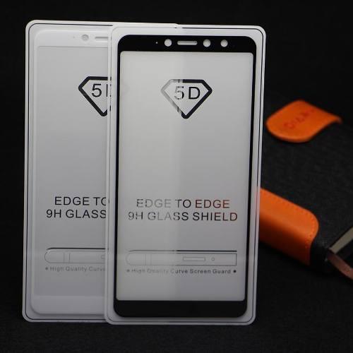 Mica Vidrio Templado 5d Xiaomi Note 5 6 Pro F1 A2 Mi8 S2