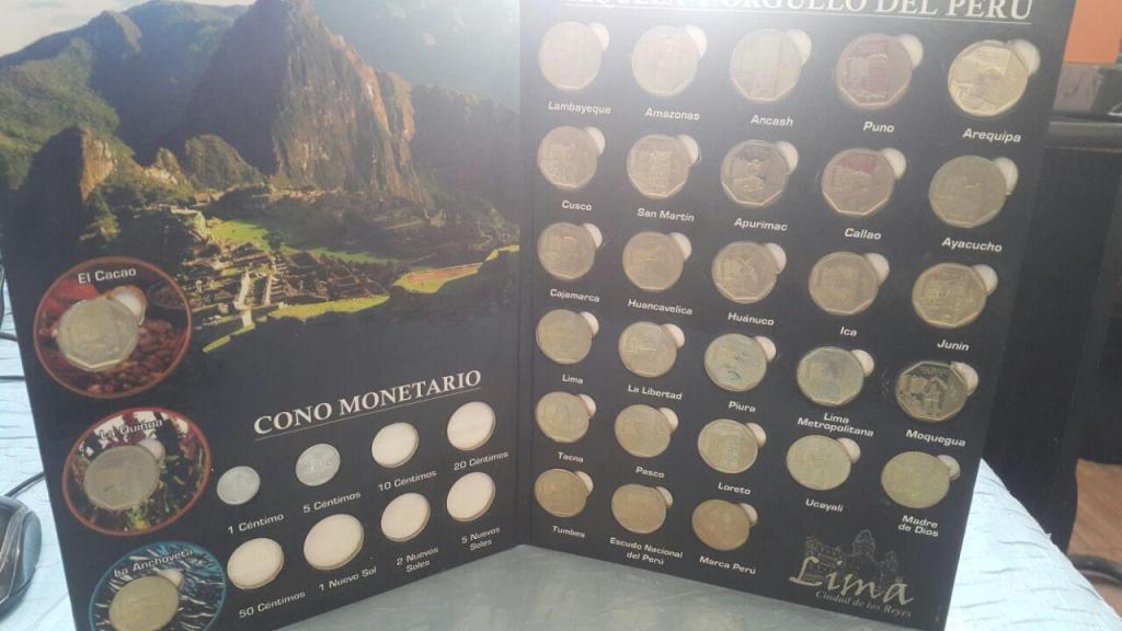 Monedas De Colección Peruano Riqueza Y Orgullo Del Perú