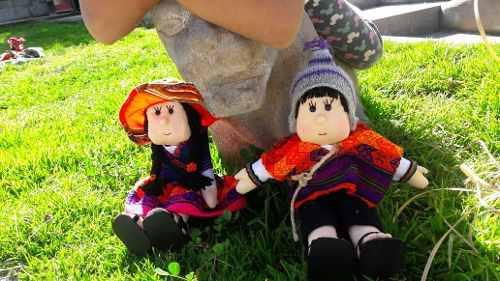 Muñecas Típicas De Cusco Hecho A Mano, Vestimenta Diversa