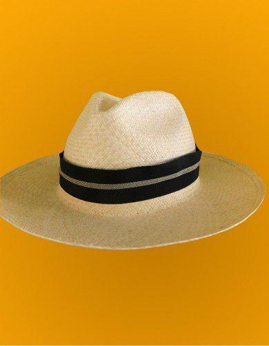 Sombrero Panama Hat - Hecho A Mano Por Artesanas De Piura