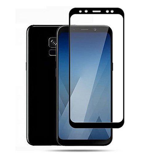 Vidrio Templado 3d Curvo Samsung A8, A8 Plus Negro Blanco