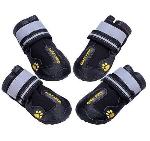 Botas Para Perros Impermeables Suela Antideslizante Velcro