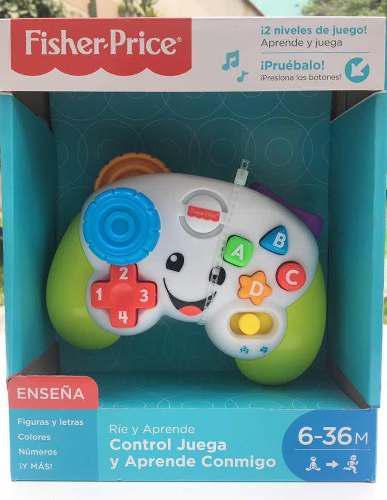 Fisher Price - Joystick Para Bebé - Mando Consola (nuevo)