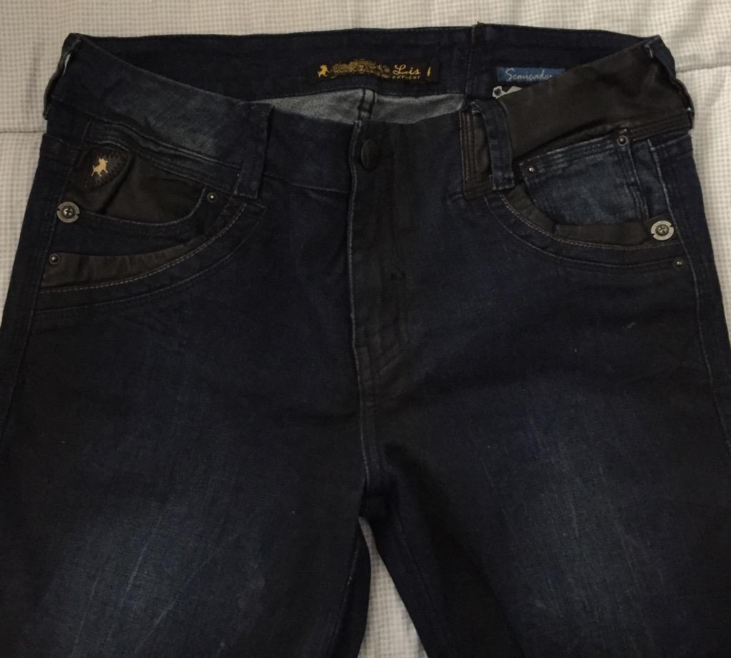 Pantalon Lois para Mujer Jean Azul Oscur