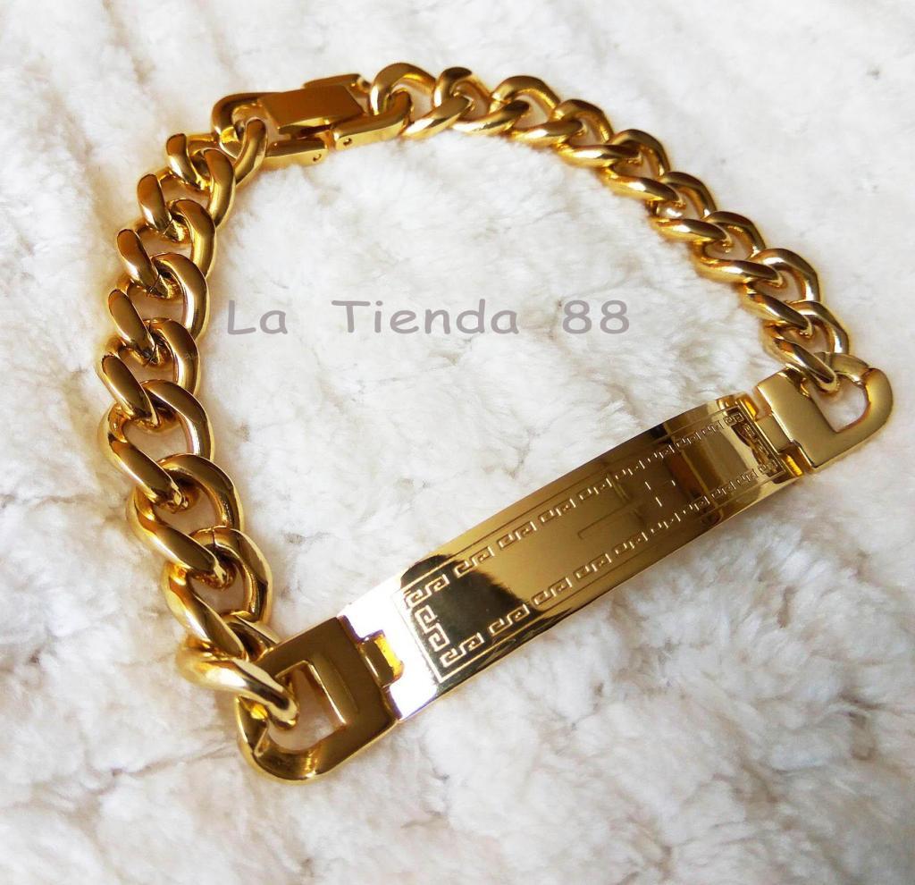 f9d55a248b7a Esclava de oro amarillo de 18k | Posot Class