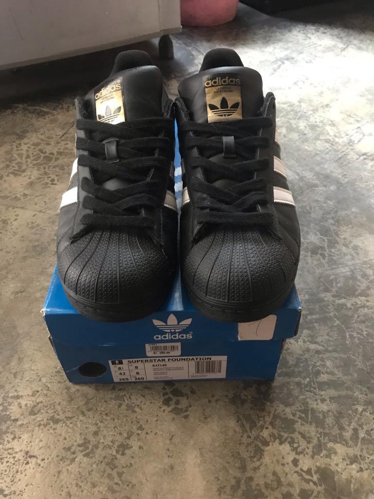Zapatillas Adidas Superstar talla 8.5USA