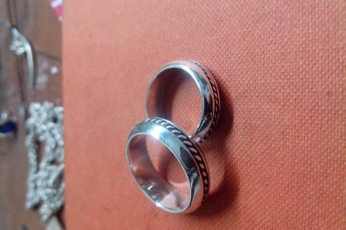 Aros De Matrimonio En Plata 950
