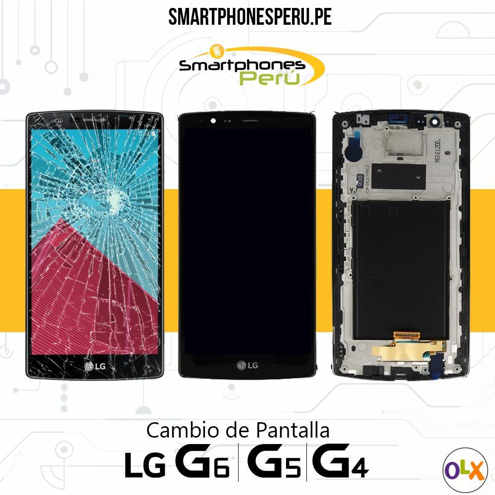 Cambio de Pantalla LG serie G, K, V, X, Con Instalacion