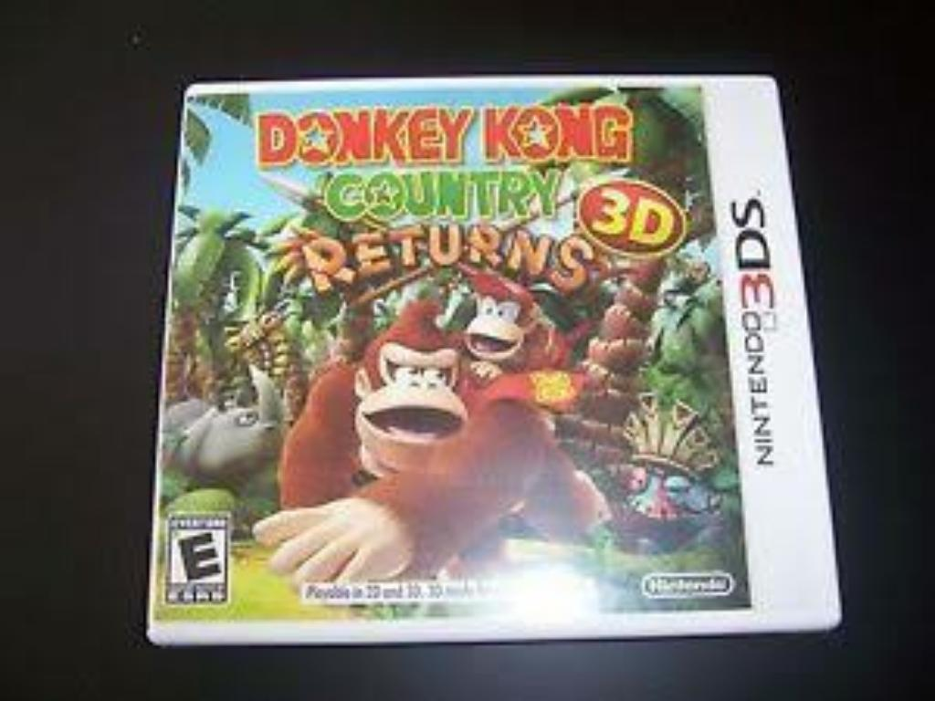 Donkey Kong Country Returns 3ds Remate!!