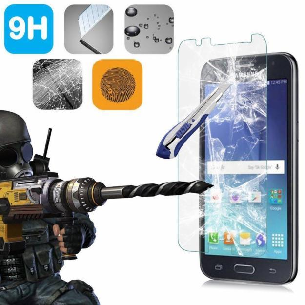 Mica Protector De Vidrio Para Samsung Galaxy J2
