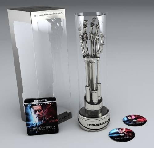 Terminator 2: Judgment Day Endoesqueleto + 4k Ultra Hd