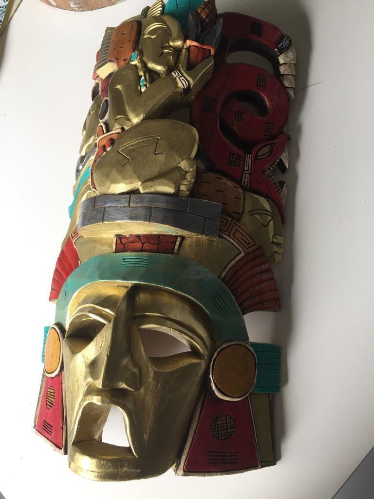 Adorno Escultura en Madera