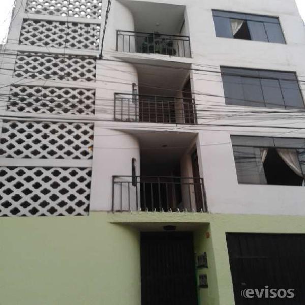 Empresa vende edificio de 5 pisos en los olivos en Lima