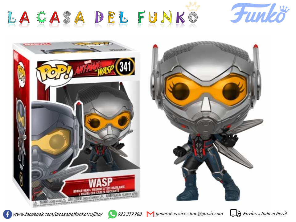 FUNKO POP WASP ANT MAN AND THE WASP