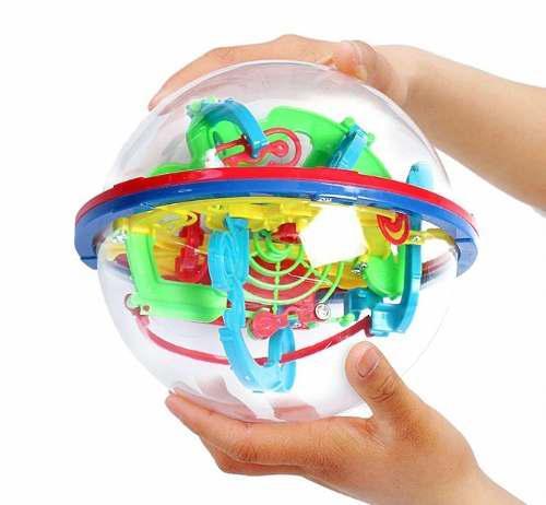 Laberinto Esfera 3d Juguete De Intelecto