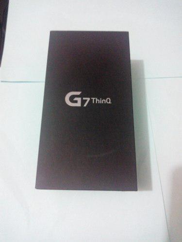 Lg G7 Thinq Nuevo En Caja Con Todos Los Accesorios