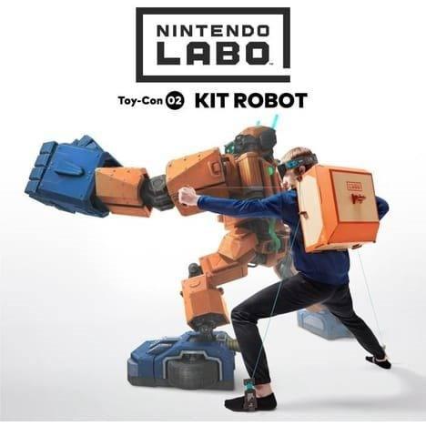 Nintendo Labo Kit Robot Nuevo En Caja