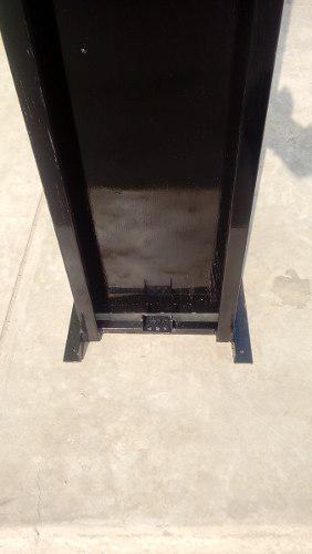 Viga Metálica / Instalación De Motor Para Puerta Levadiza