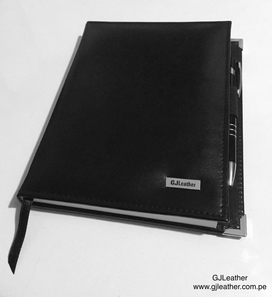Cuaderno de Biocuero Gjleather A5 15X21C