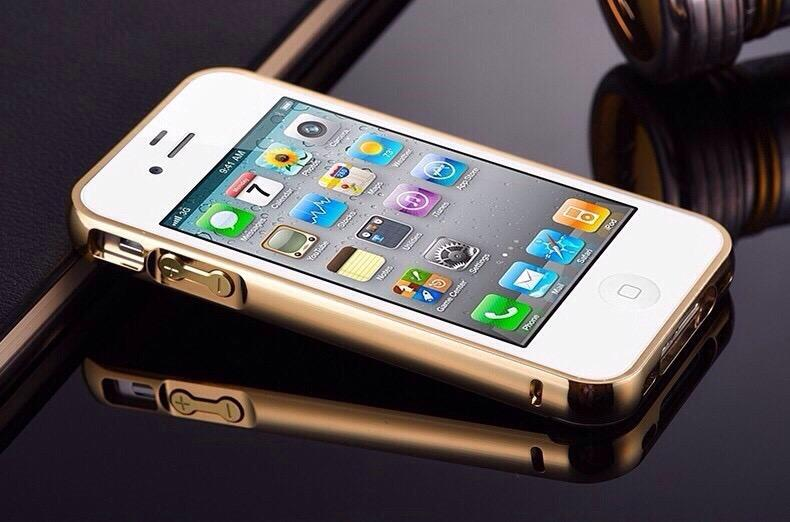 Funda Unica Marco Metalico con Tapa Espejo Resistente iPhone
